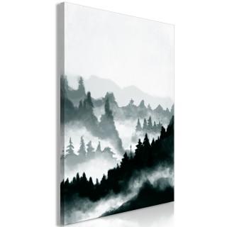 Πίνακας - Hazy Landscape (1 Part) Vertical