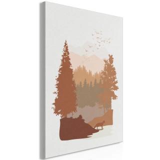 Πίνακας - Autumn in the Mountains (1 Part) Vertical