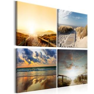Πίνακας - On The Beach of Dreams