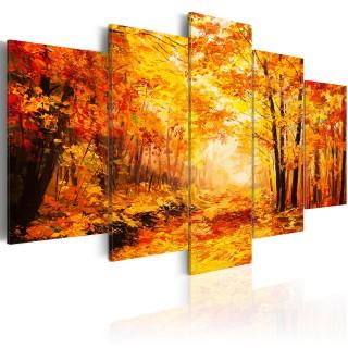 Πίνακας - Autumn Alley