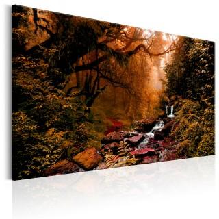 Πίνακας - Autumn Waterfall