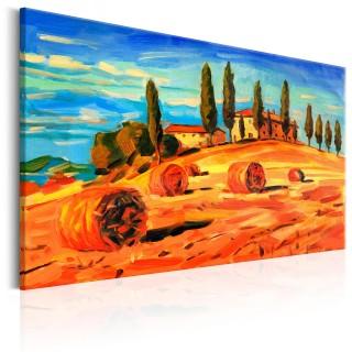 Πίνακας - August in Tuscany