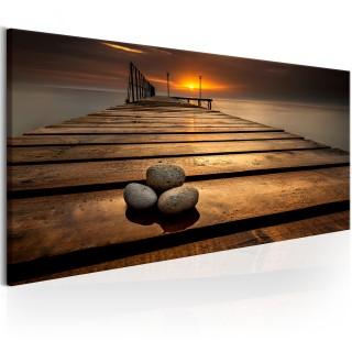 Πίνακας - Stones on the Pier