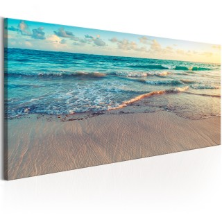 Πίνακας - Beach in Punta Cana (1 Part) Narrow