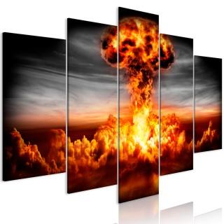 Πίνακας - Explosion (5 Parts) Wide