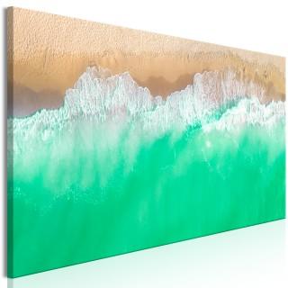 Πίνακας - Coast (1 Part) Narrow Green