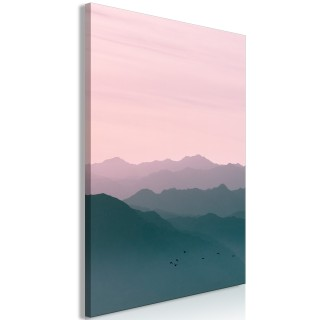 Πίνακας - Mountain At Sunrise (1 Part) Vertical