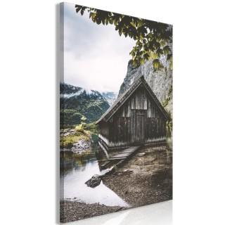Πίνακας - House in the Mountains (1 Part) Vertical