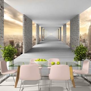 Αυτοκόλλητη φωτοταπετσαρία - Skyward Corridor