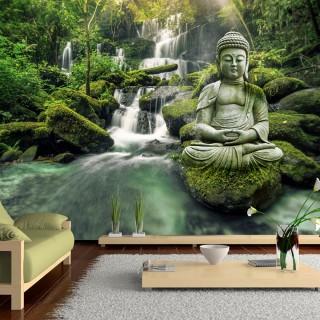 Αυτοκόλλητη φωτοταπετσαρία - Waterfall of Harmony