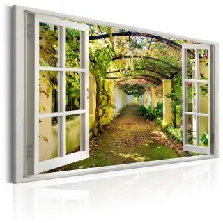 Πίνακας - Window: View on Pergola