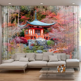 Αυτοκόλλητη φωτοταπετσαρία - Autumnal Japan