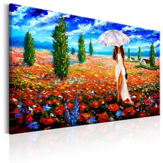 Πίνακας - Woman with Umbrella