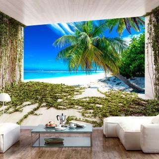 Φωτοταπετσαρία - Beach and Ivy