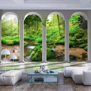Φωτοταπετσαρία - Pillars and Forest
