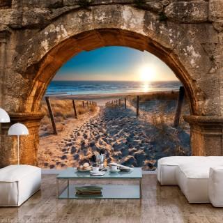 Φωτοταπετσαρία - Arch and Beach