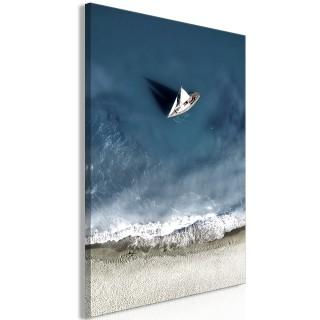 Πίνακας - Yacht at Sea (1 Part) Wide