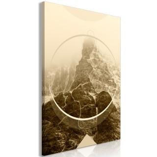 Πίνακας - Power of the Mountains (1 Part) Vertical