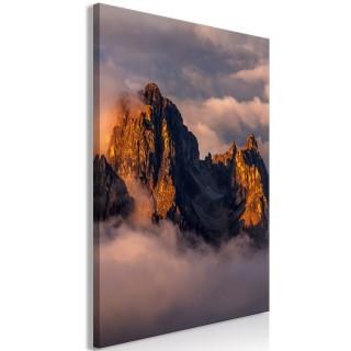Πίνακας - Mountains in the Clouds (1 Part) Vertical