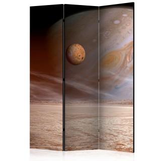 διαχωριστικό με 3 τμήματα - A small and a big planet [Room Dividers]