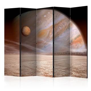 διαχωριστικό με 5 τμήματα - A small and a big planet II [Room Dividers]