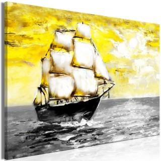 Πίνακας - Spring Cruise (1 Part) Wide Yellow