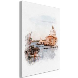 Πίνακας - Watercolour Venice (1 Part) Vertical