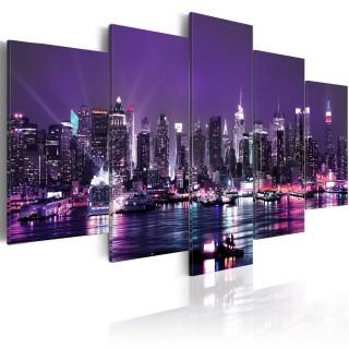 Πίνακας - Purple Sky