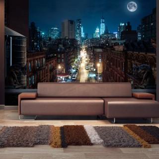 Αυτοκόλλητη φωτοταπετσαρία - Sleepy New York