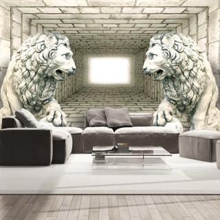Φωτοταπετσαρία - Chamber of lions