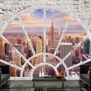 Αυτοκόλλητη φωτοταπετσαρία - NY - Wonderful view