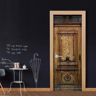 Φωτοταπετσαρία πόρτας - Medieval Entrance