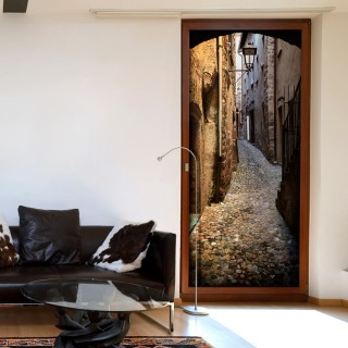 Φωτοταπετσαρία πόρτας - Stony City