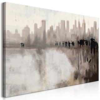 Πίνακας - City in the Rain (1 Part)