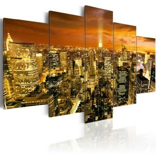 Πίνακας - New York: amber
