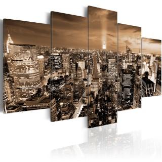 Πίνακας - New York: night light