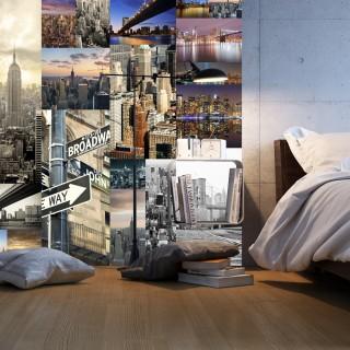 Φωτοταπετσαρία - Streets of New York