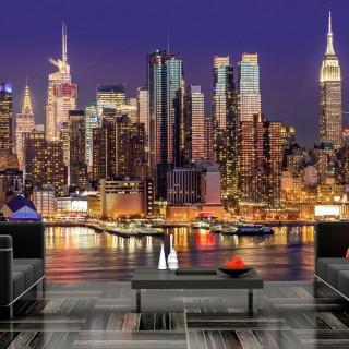 Φωτοταπετσαρία - NYC: Night City
