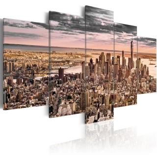 Πίνακας - New York City: Morning Sky