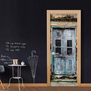 Φωτοταπετσαρία πόρτας - Old Door