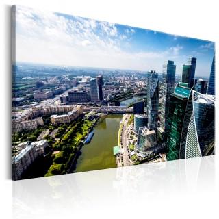 Πίνακας - Aerial view of Moscow