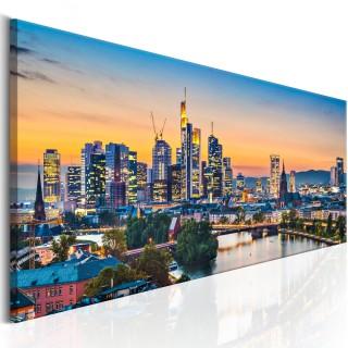 Πίνακας - Evening in Frankfurt