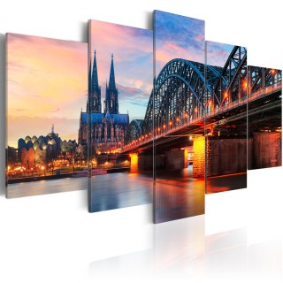 Πίνακας - Evening in Cologne