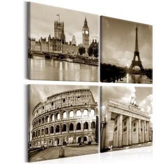 Πίνακας - European Capitals