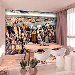 Φωτοταπετσαρία - Bird's Eye View of New York