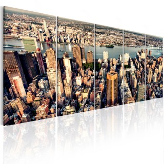 Πίνακας - Flight over New York