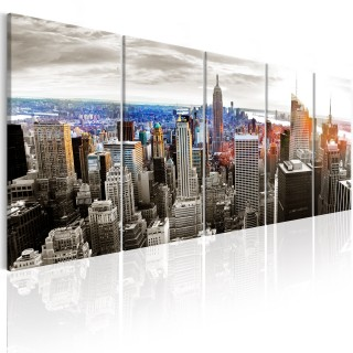 Πίνακας - New York: Grey Tower Blocks