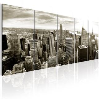 Πίνακας - Grey Manhattan