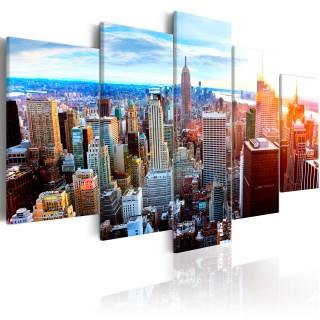 Πίνακας - New York Sunrise