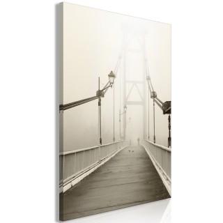 Πίνακας - Bridge in the Fog (1 Part) Vertical